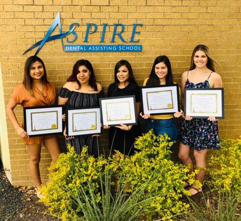 Aspire Dental Graduates